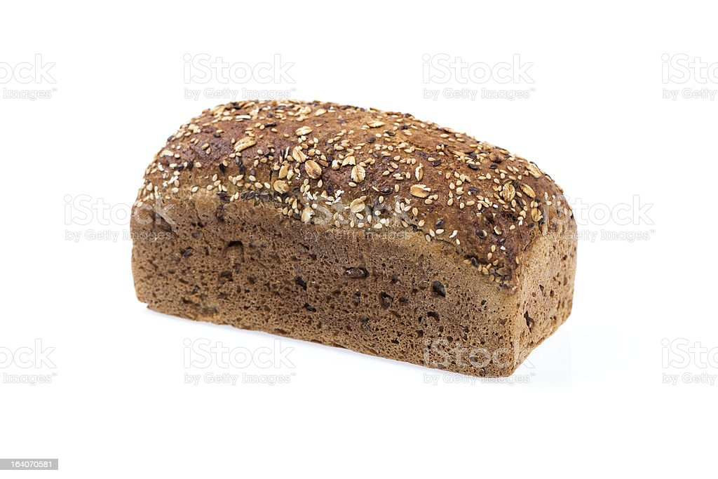 Brown bread loaf royalty-free stock photo