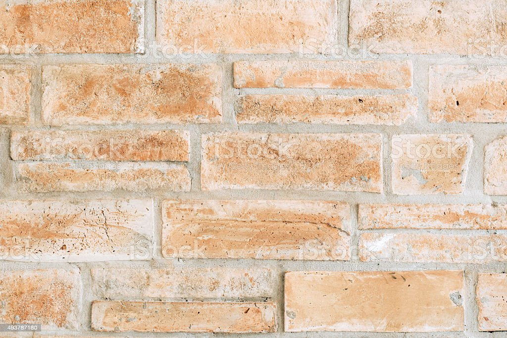 brown brick concrete texture and background stock photo