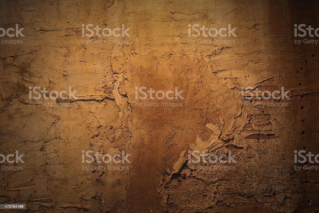 Brown brick old texture stock photo
