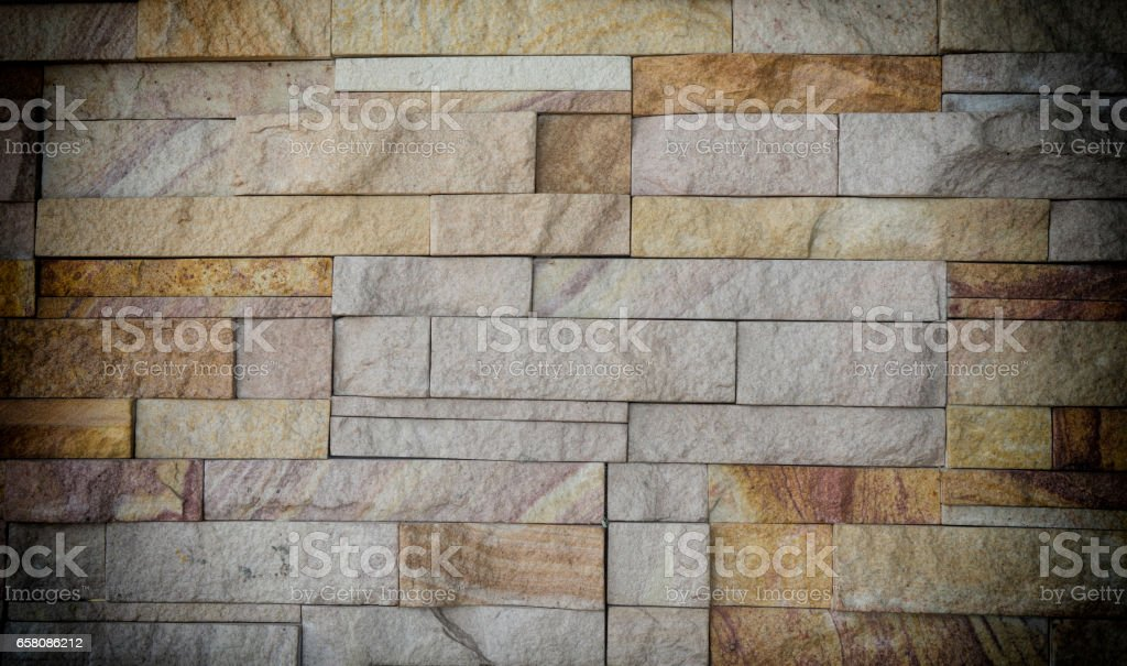 brown brick wall texture background stock photo