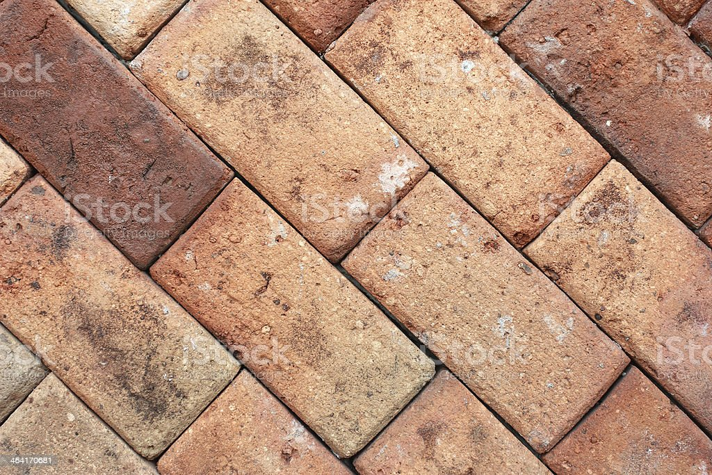 brown brick wall texture royalty-free stock photo
