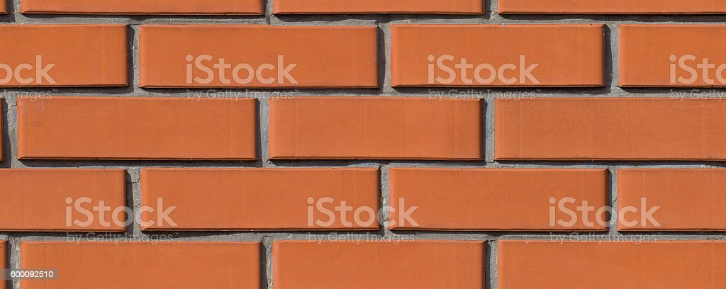 brown brickwork stock photo