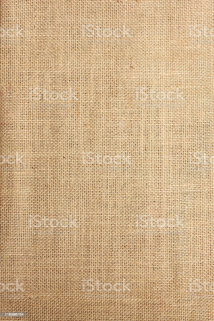 Brown burlap background pattern stock photo