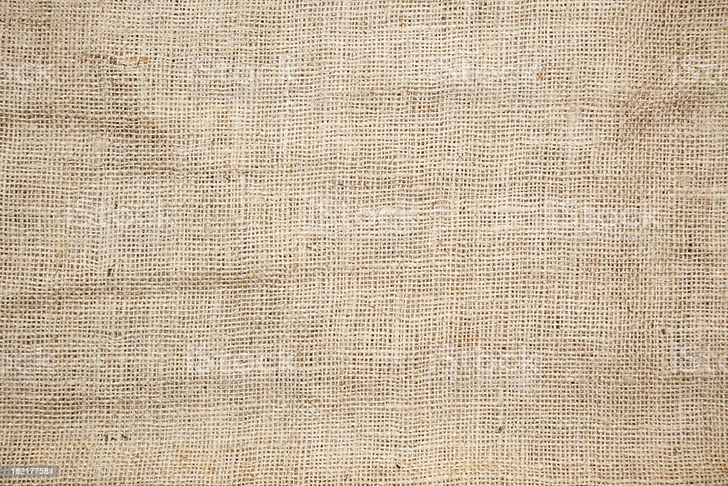 Brown Burlap Texture Background stock photo