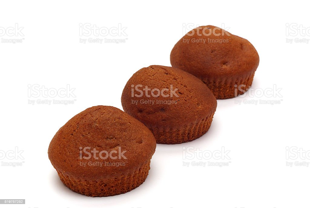 brown cakes stock photo