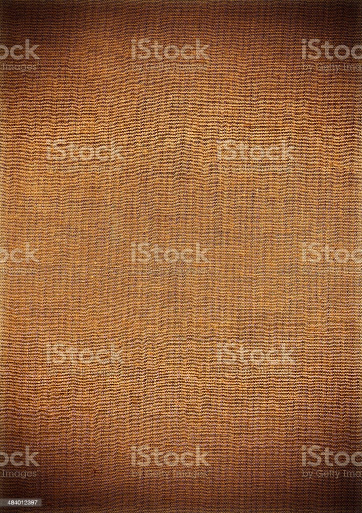 Brown Canvas Cloth Texture royalty-free stock photo