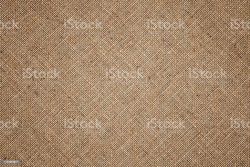 High resolution brown canvas detail stock photo