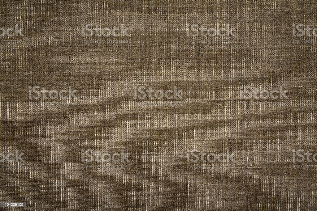 A brown canvas texture used for clothes royalty-free stock photo