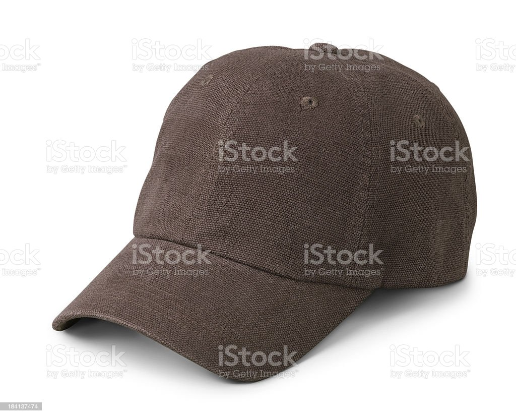 Brown Cap stock photo