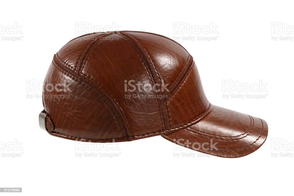 brown cap royalty-free stock photo