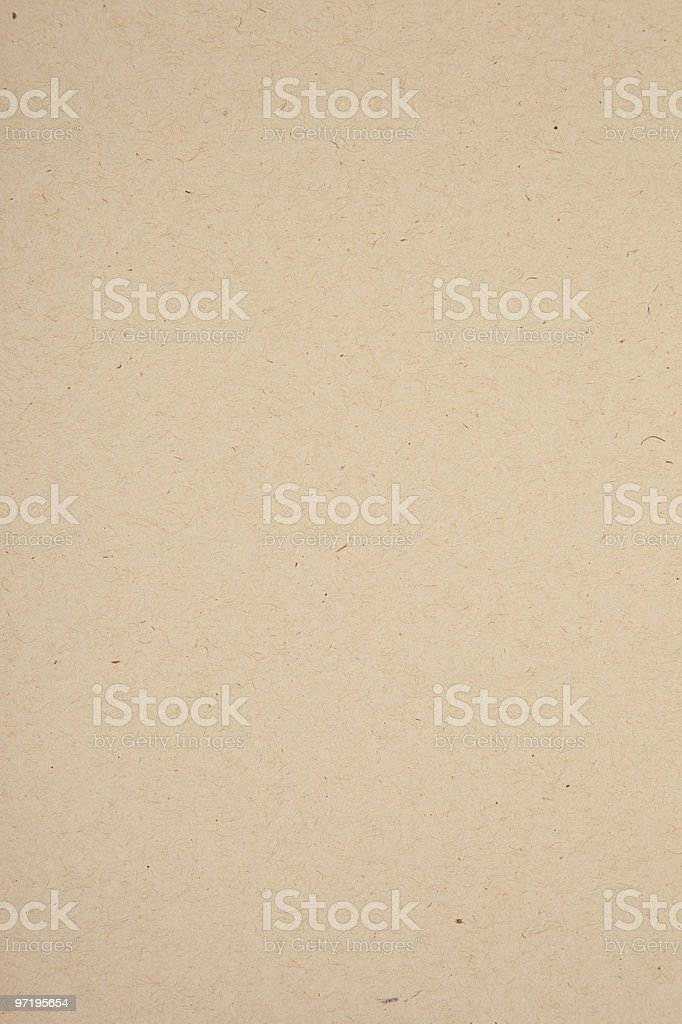 Brown card stock paper stock photo