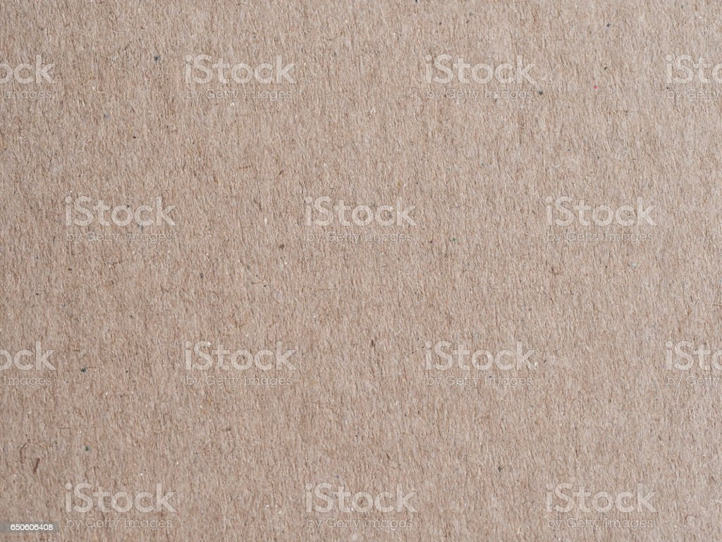 brown cardboard closeup / macro stock photo