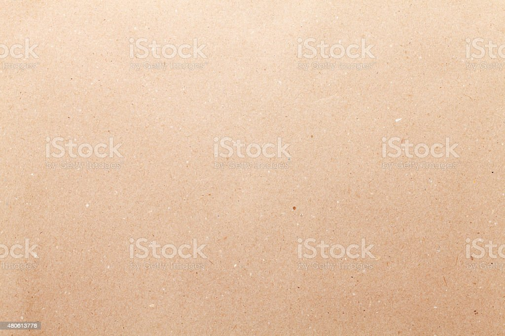 Brown cardboard paper stock photo