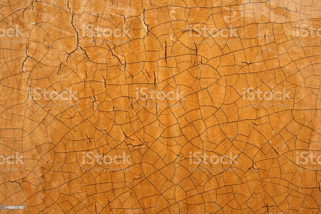Brown Ceramic Background royalty-free stock photo
