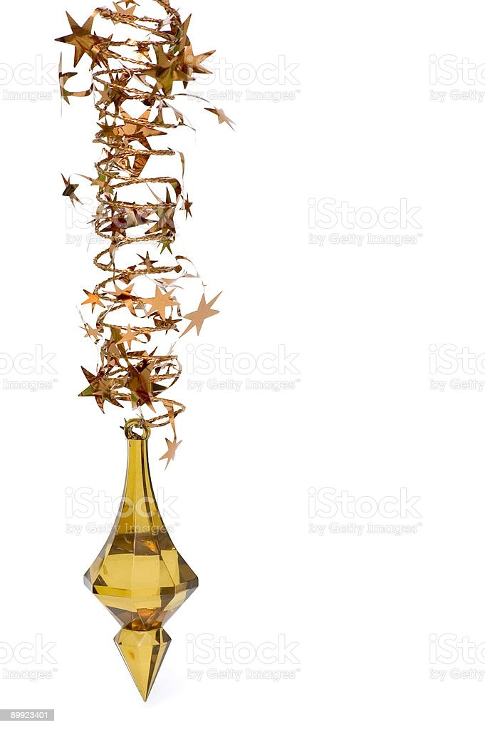 Brown Christmas Decoration royalty-free stock photo