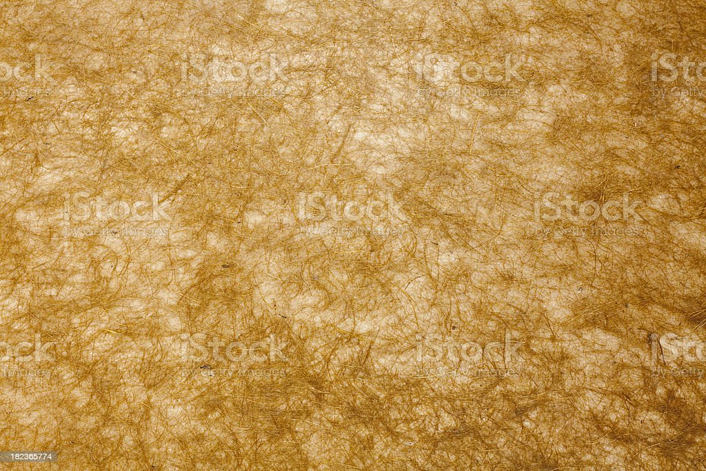 Brown Coconut Mulberry Paper Texture stock photo