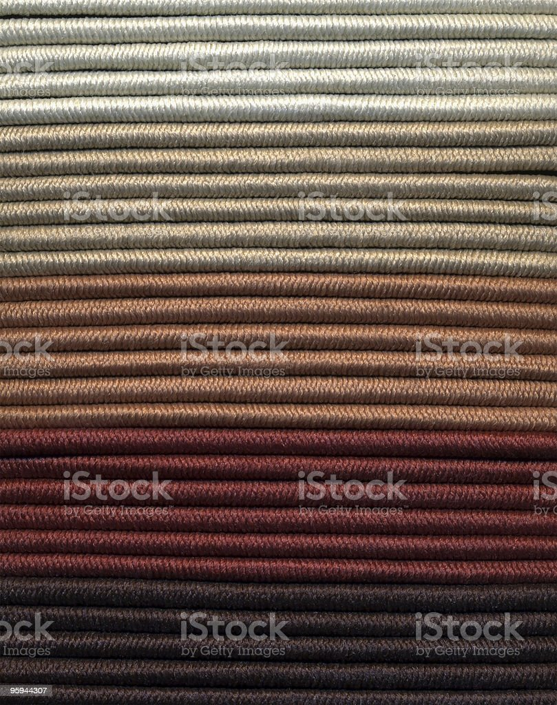 brown colored strings royalty-free stock photo