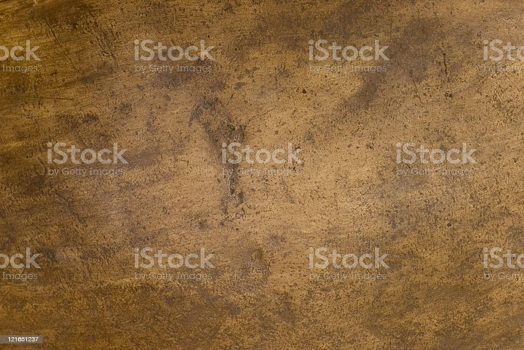 A brown, copper-textured background stock photo