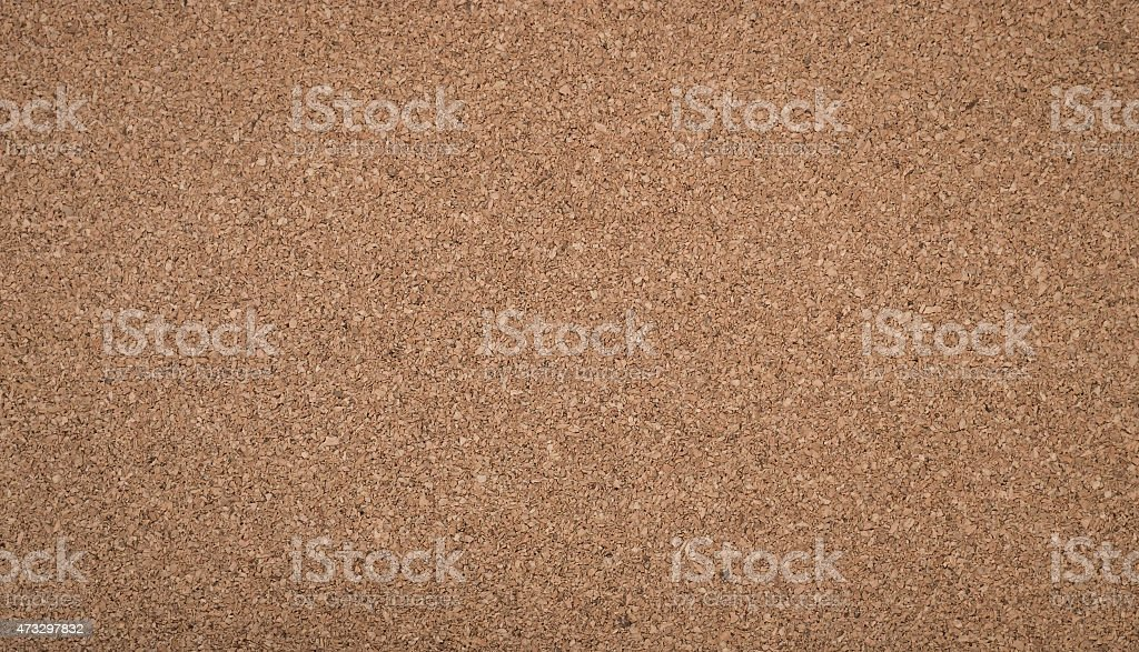 Brown cork board texture stock photo