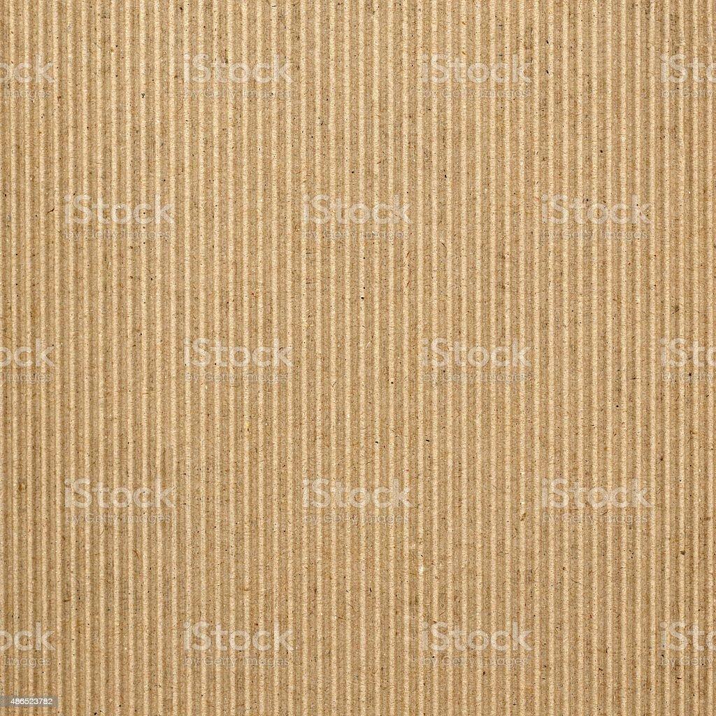 Brown corrugated cardboard background stock photo