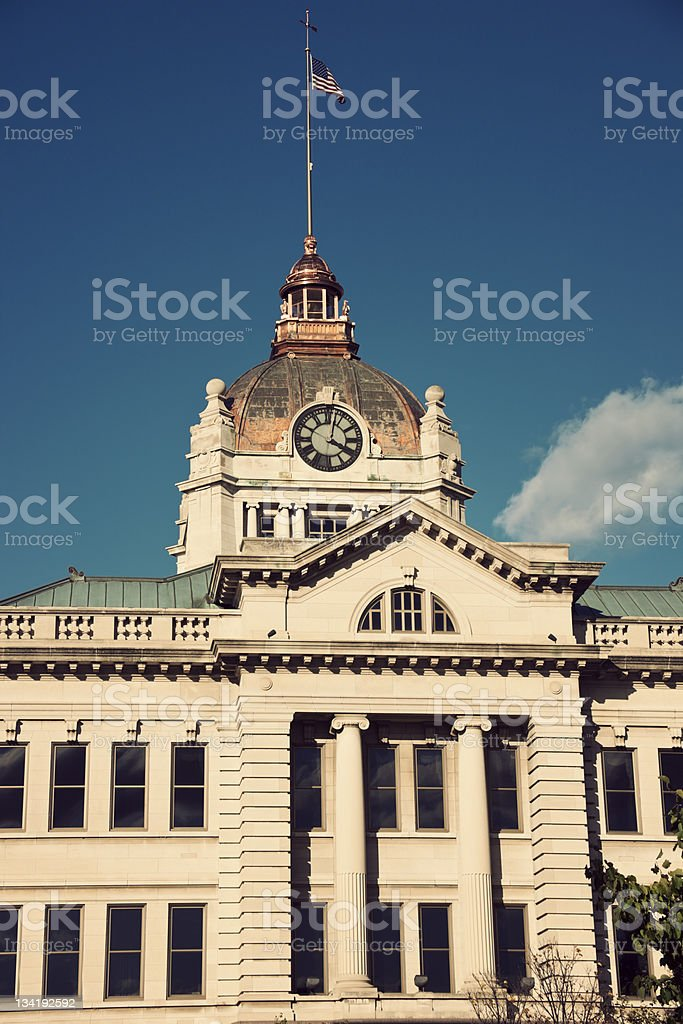 Brown County Courthouse in Green Bay stock photo