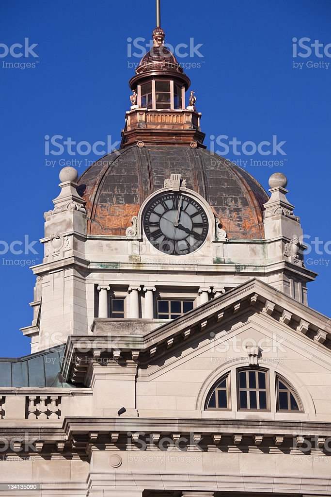 Brown County Courthouse stock photo