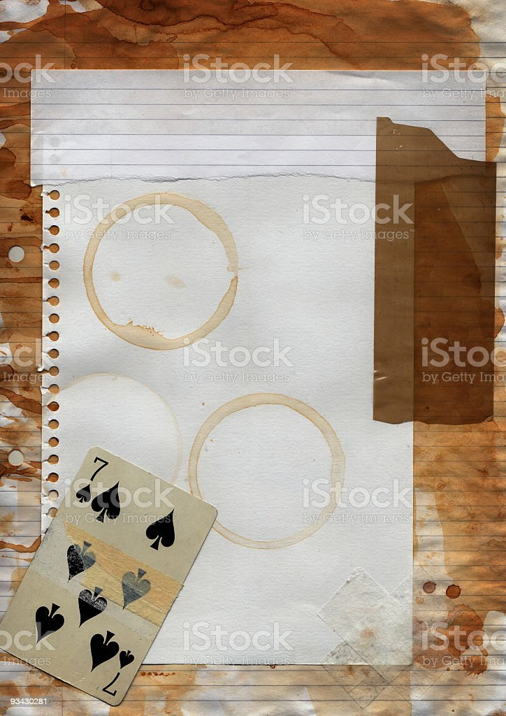 Brown Distressed Background royalty-free stock photo