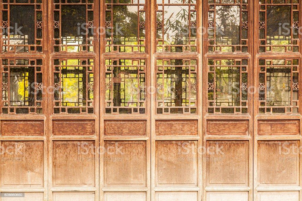 brown door stock photo