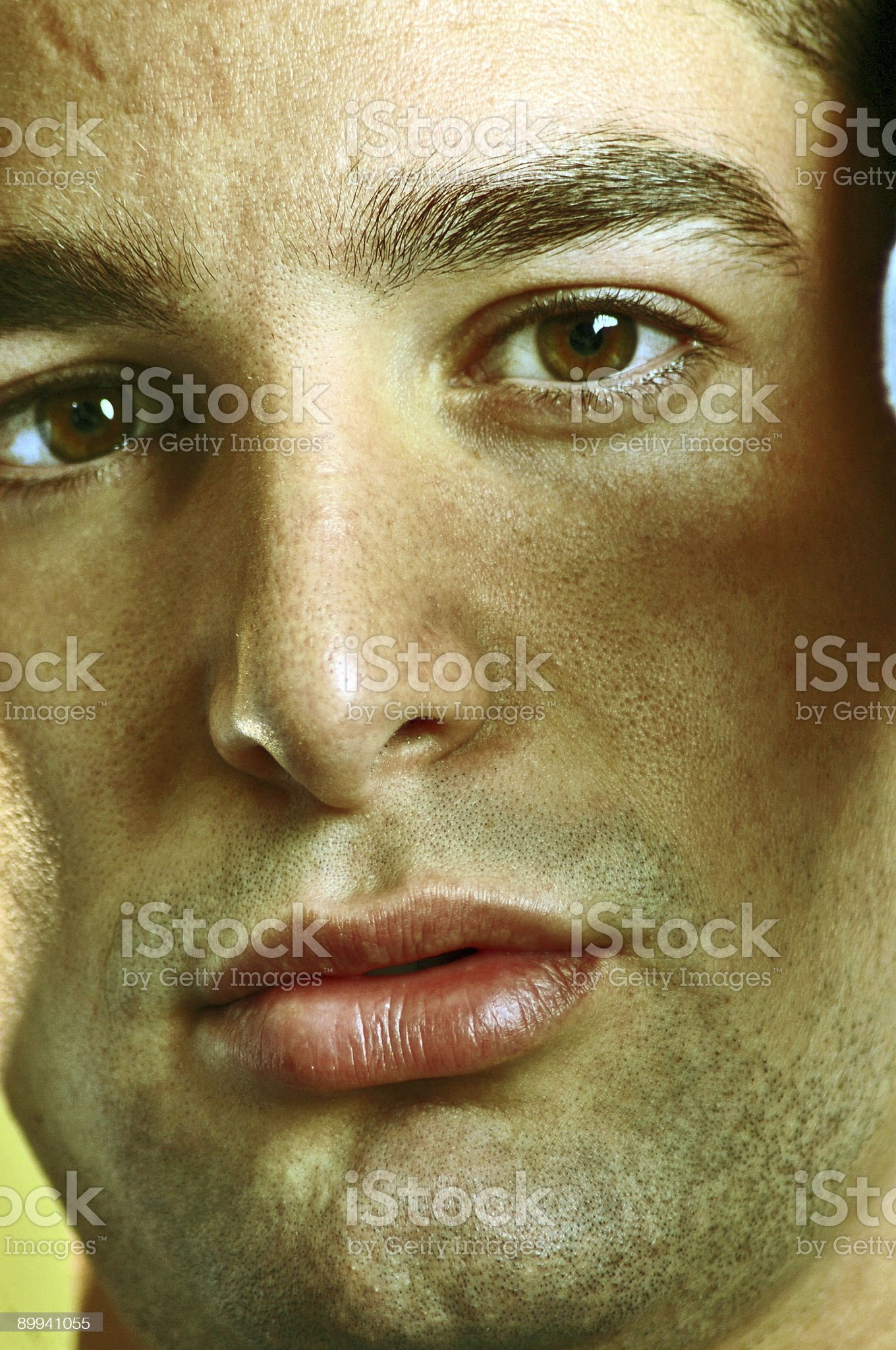 Brown eyes royalty-free stock photo