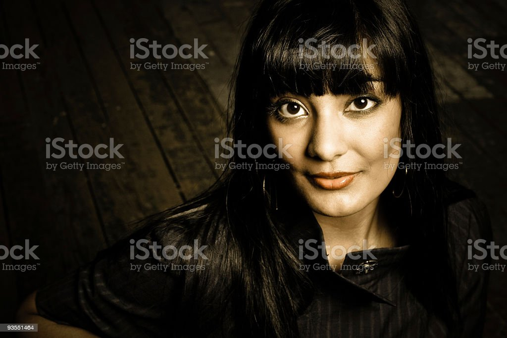 Brown Eyes royalty-free stock photo