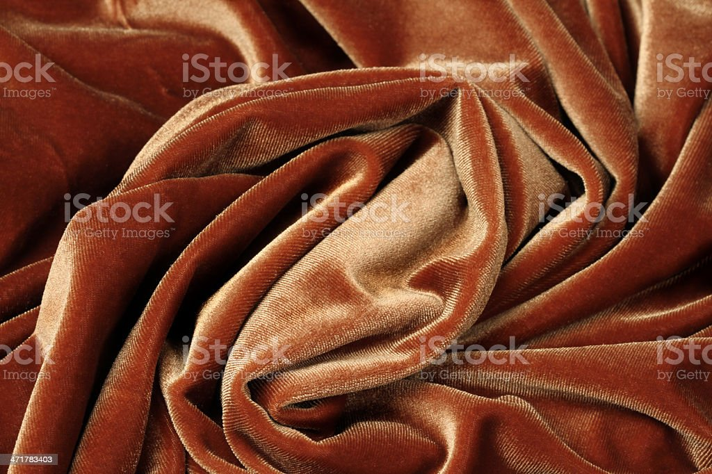 brown fabric - background royalty-free stock photo