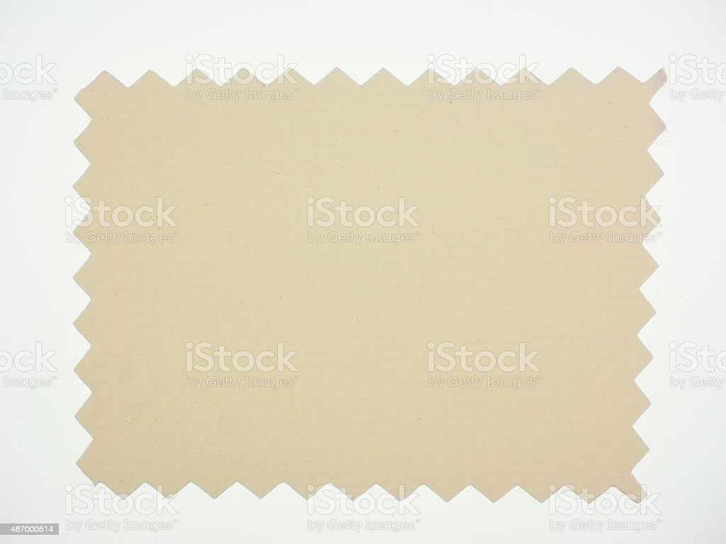 Brown Fabric sample stock photo