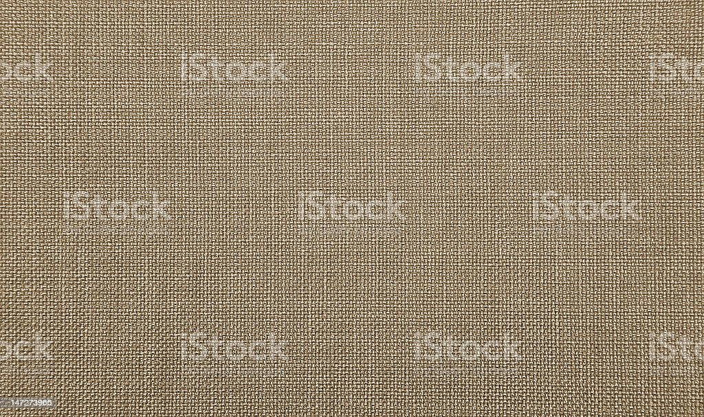 Brown Fabric Texture royalty-free stock photo