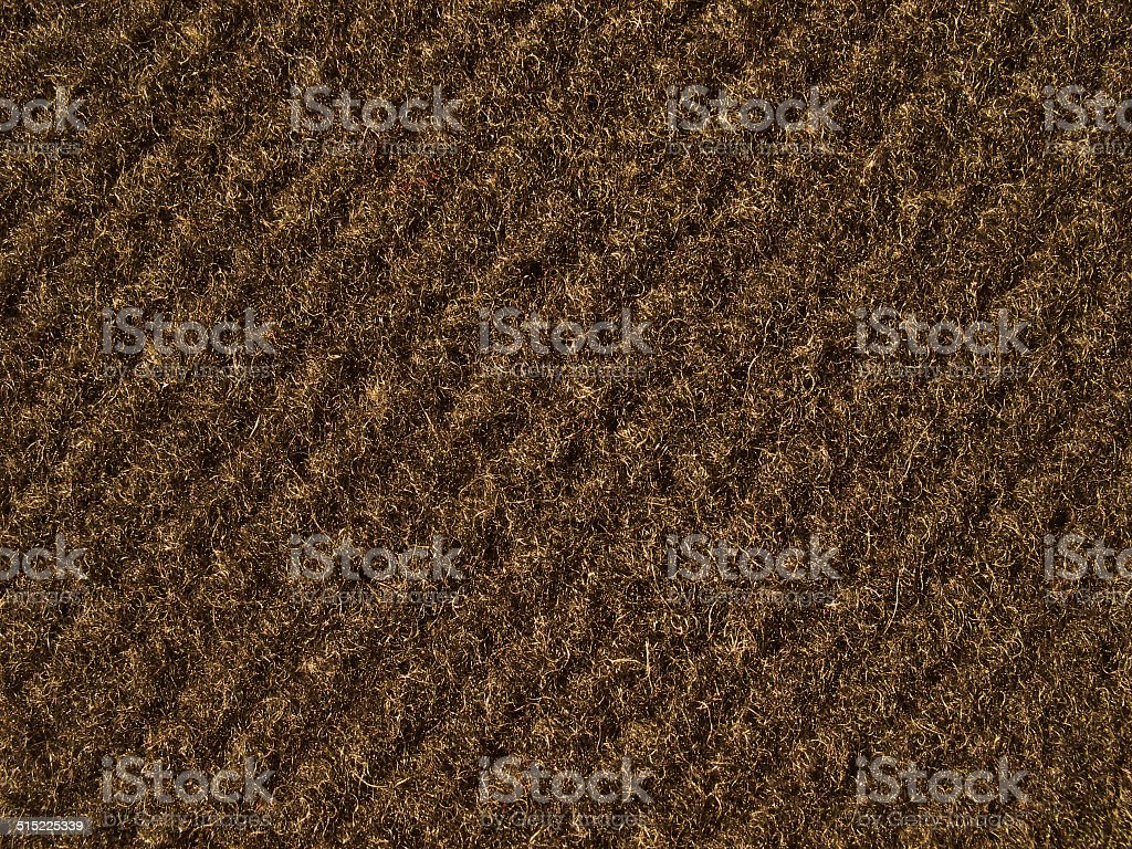 Brown fabric texture - thick woolen cloth stock photo