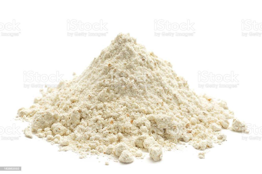 Brown Flour stock photo