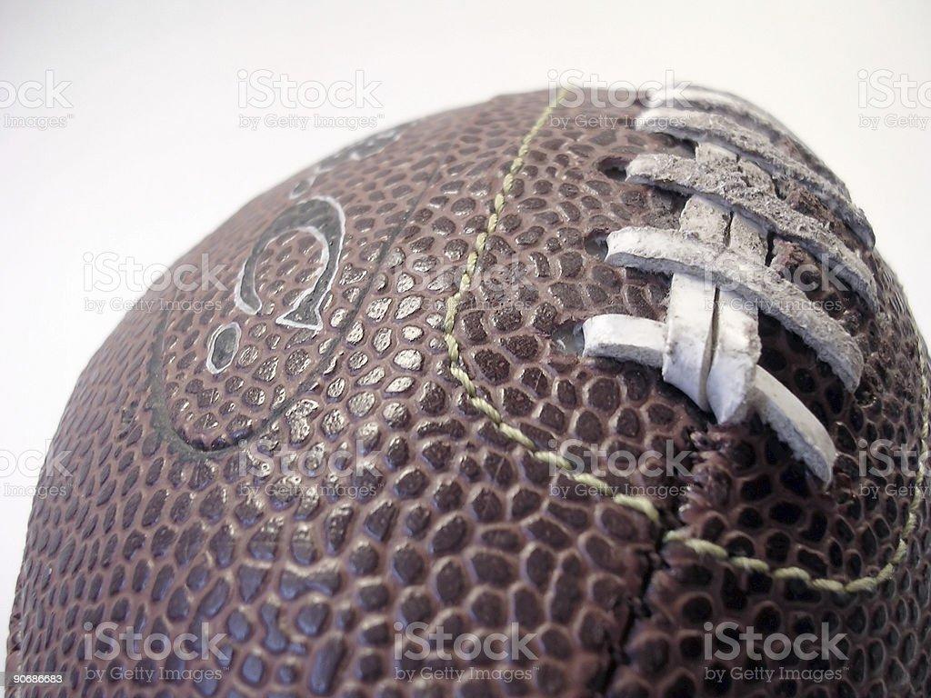 Brown Football stock photo