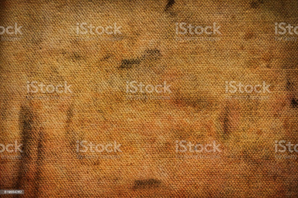 Brown greased canvas stock photo