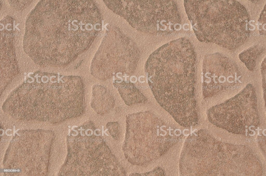 Brown gritstone background stock photo