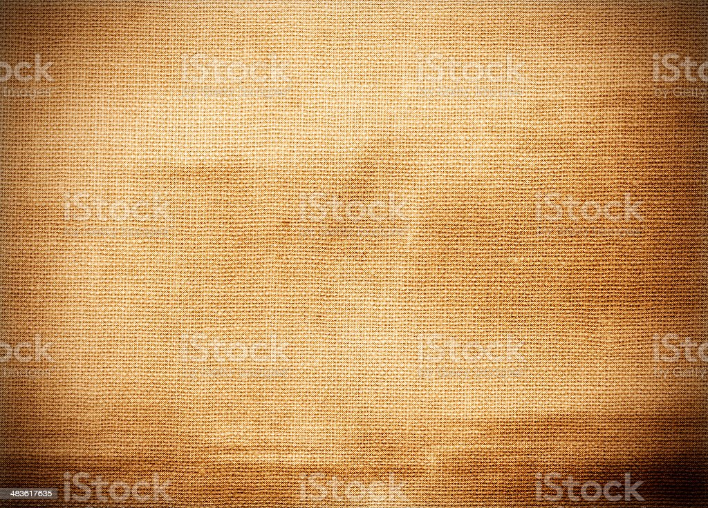 Brown grunge canvas texture royalty-free stock photo