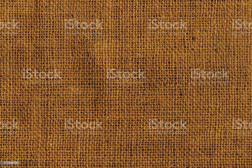Brown grunge linen texture stock photo
