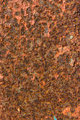 Brown grunge wall rust texture
