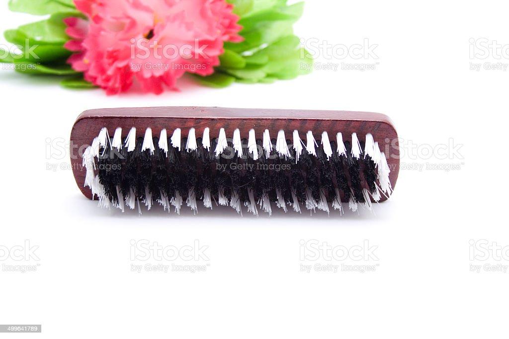 Brown Handbrush royalty-free stock photo