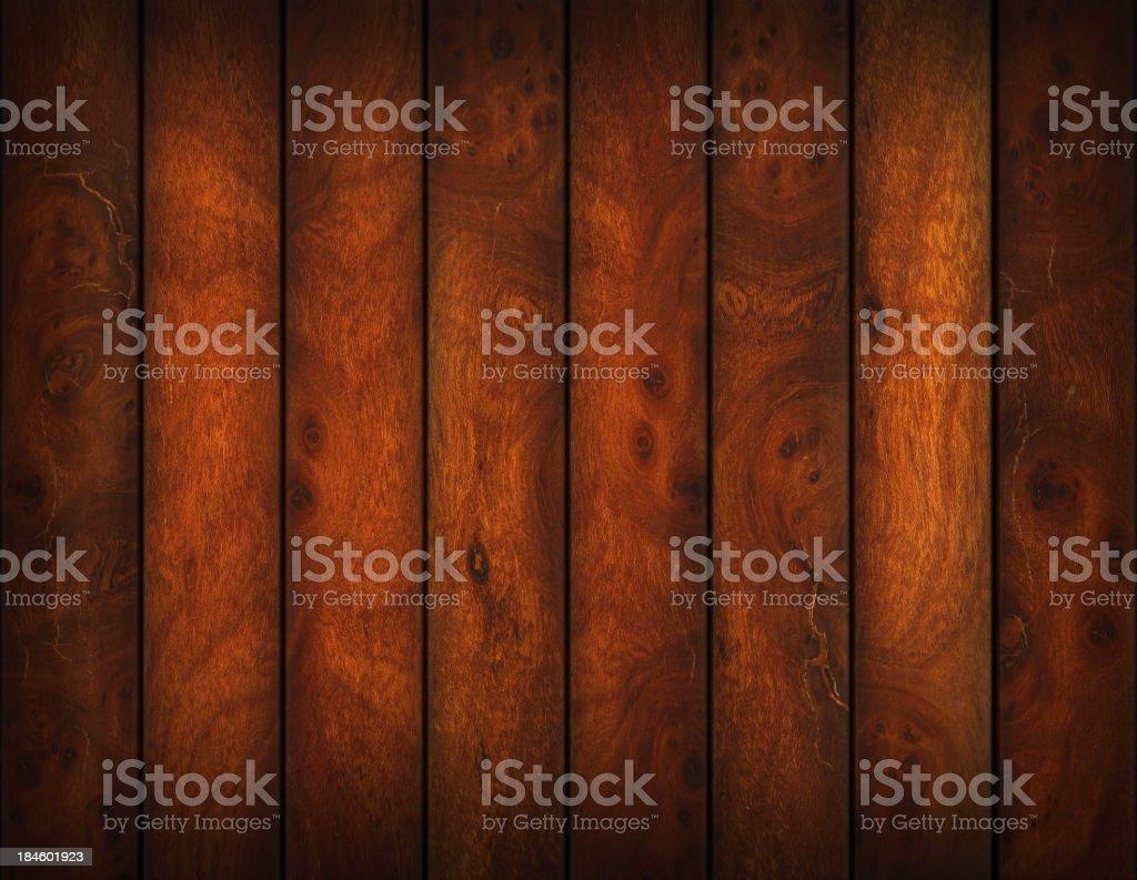 Brown hardwood floor stock photo