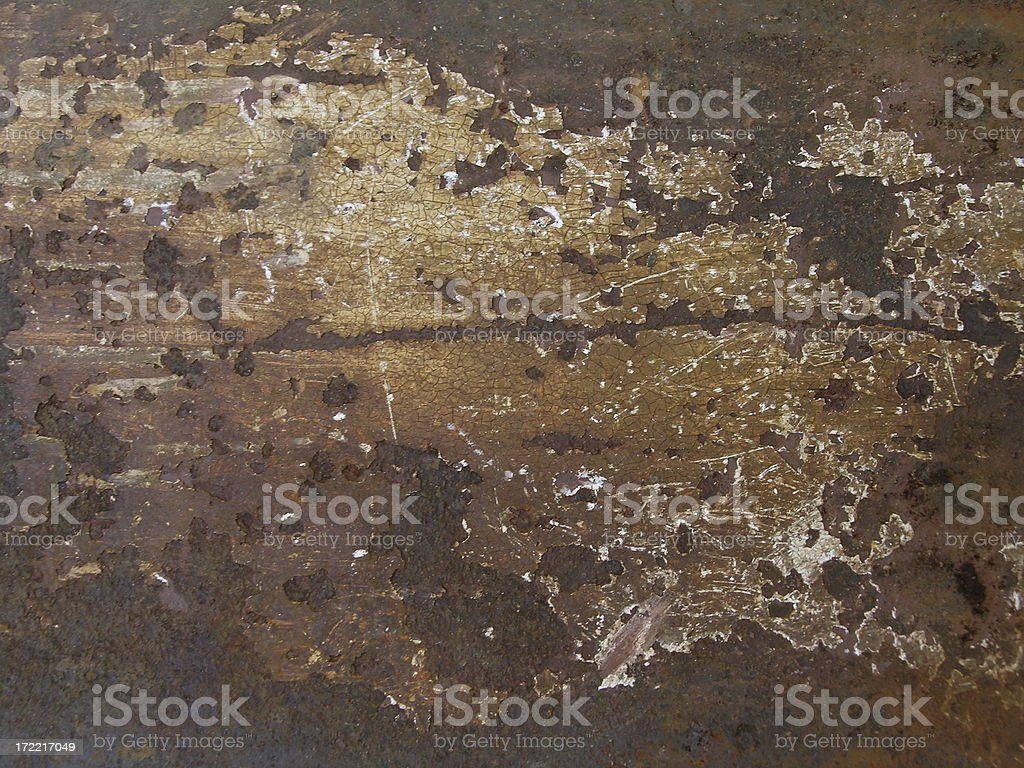 Brown Industrial Metal Rust Background Grunge Layer royalty-free stock photo