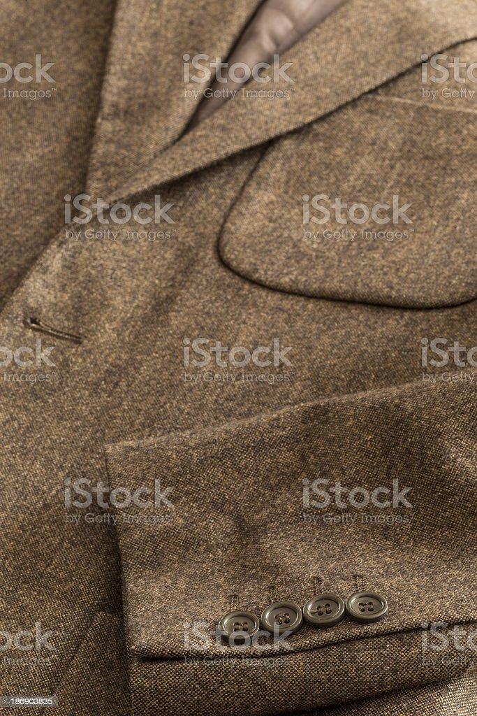 Brown Jacket Pocket royalty-free stock photo