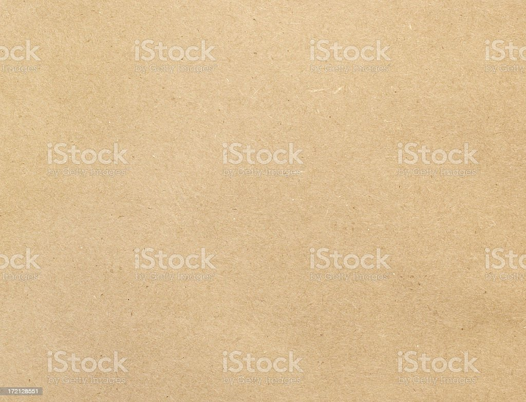 Brown Kraft Paper Background royalty-free stock photo