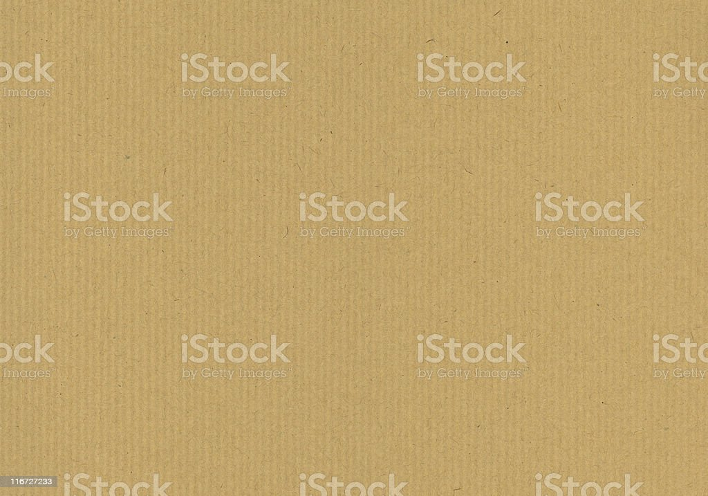 Brown Kraft paper pattern for a background stock photo