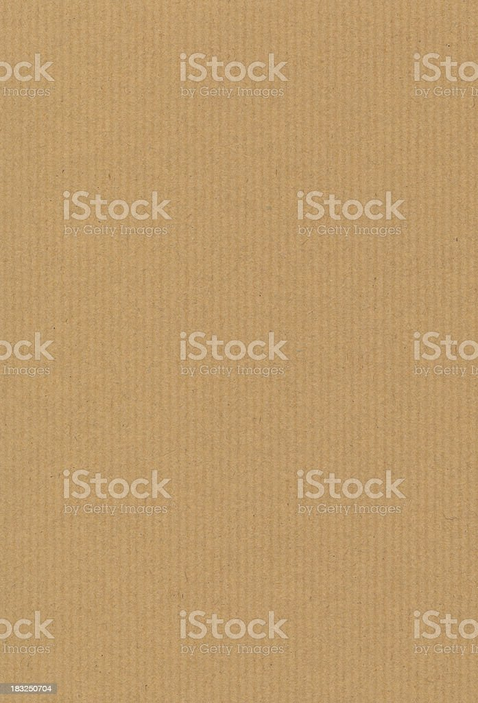 Brown kraft paper stock photo