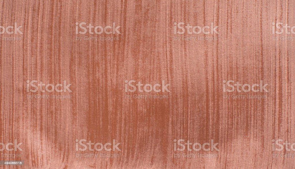 Brown kraft striped paper coarse grain grunge texture sample stock photo