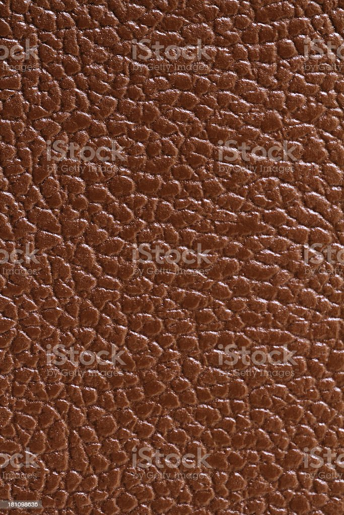 Brown Leather Background Full Frame stock photo